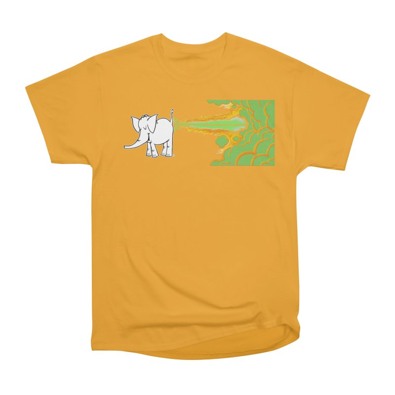 Laser Cy Men's T-Shirt by Cy The Elephart's phArtist Shop