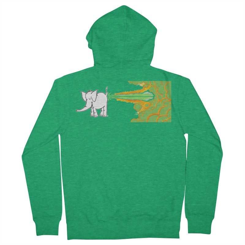 Laser Cy Women's Zip-Up Hoody by Cy The Elephart's phArtist Shop