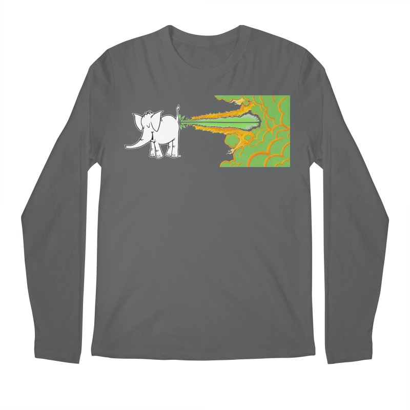 Laser Cy Men's Longsleeve T-Shirt by Cy The Elephart's phArtist Shop