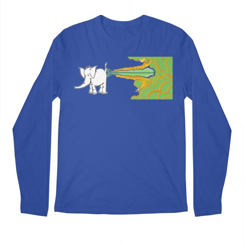 Laser Cy Men's Regular Longsleeve T-Shirt by Cy The Elephart's phArtist Shop