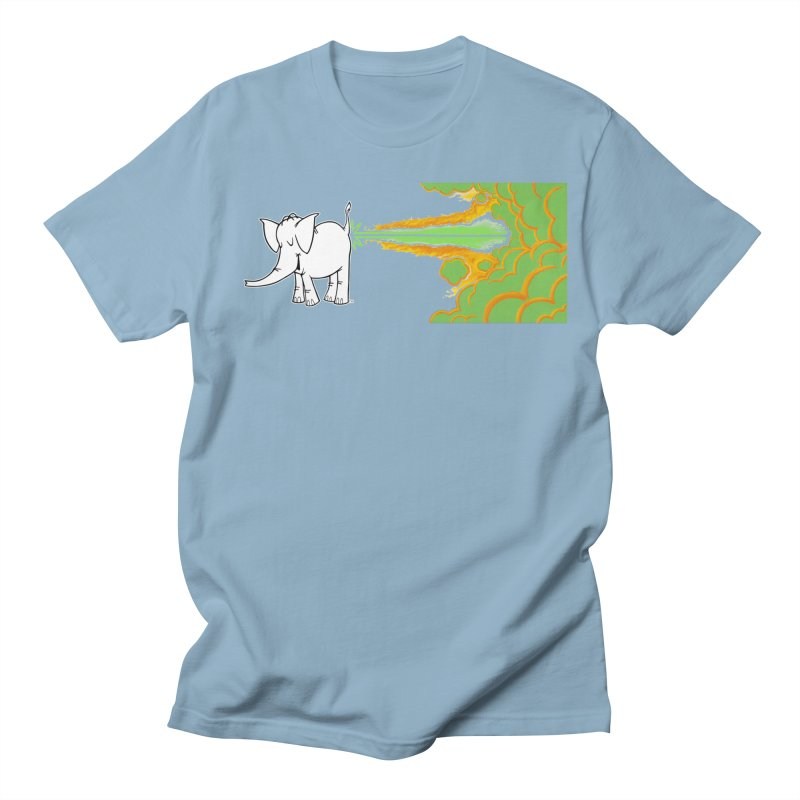 Laser Cy Men's Regular T-Shirt by Cy The Elephart's phArtist Shop
