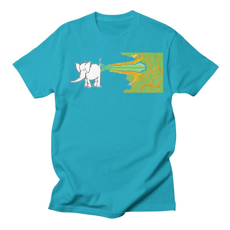 Laser Cy Women's Regular Unisex T-Shirt by Cy The Elephart's phArtist Shop