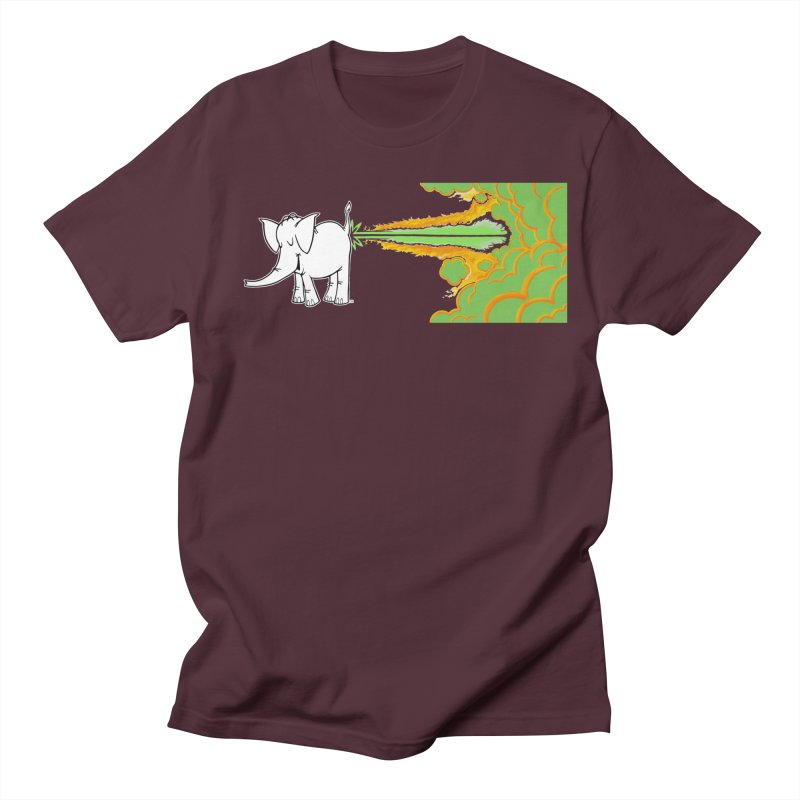 Laser Cy Men's T-Shirt by Cy The Elephart's phArtist Shop