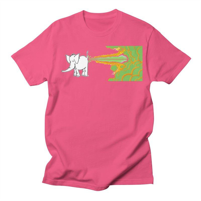 Laser Cy Women's Regular Unisex T-Shirt by Cy The Elephart's phArtist Shop