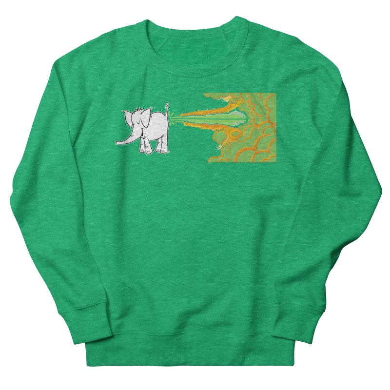 Laser Cy Women's Sweatshirt by Cy The Elephart's phArtist Shop