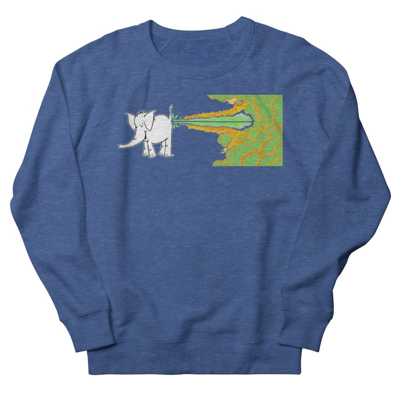 Laser Cy Women's French Terry Sweatshirt by Cy The Elephart's phArtist Shop