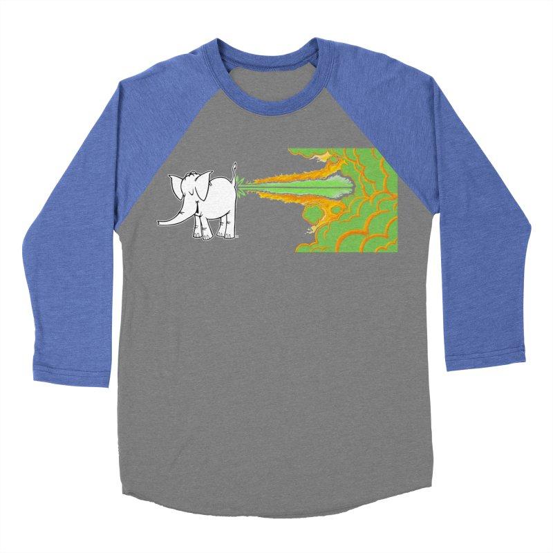 Laser Cy Women's Baseball Triblend Longsleeve T-Shirt by Cy The Elephart's phArtist Shop