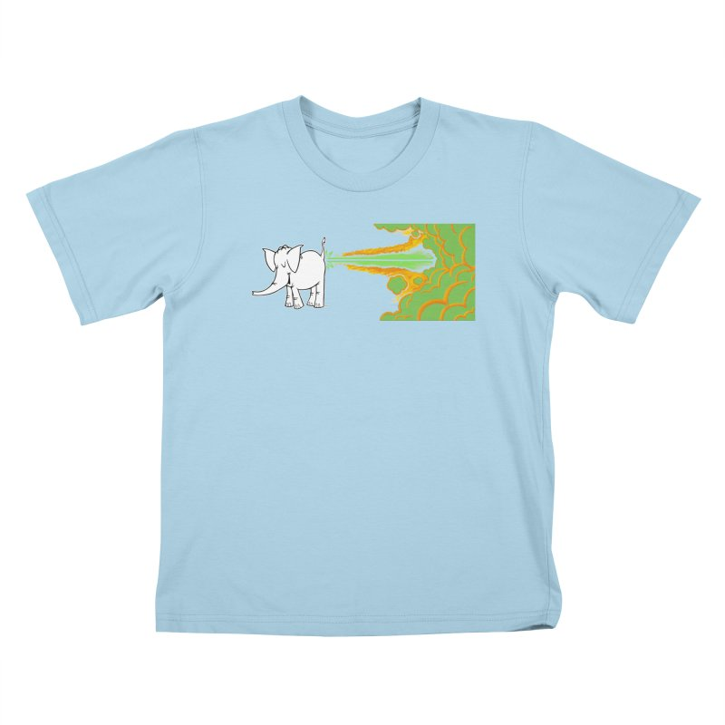 Laser Cy Kids T-Shirt by Cy The Elephart's phArtist Shop