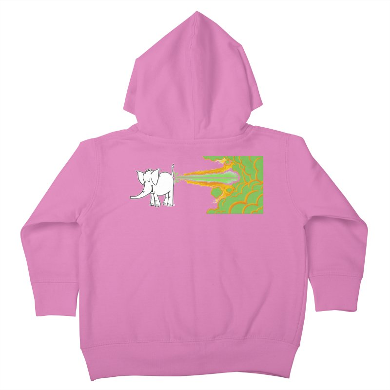 Laser Cy Kids Toddler Zip-Up Hoody by Cy The Elephart's phArtist Shop