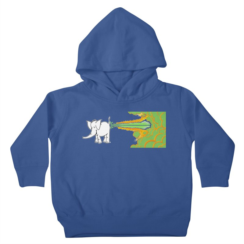 Laser Cy Kids Toddler Pullover Hoody by Cy The Elephart's phArtist Shop
