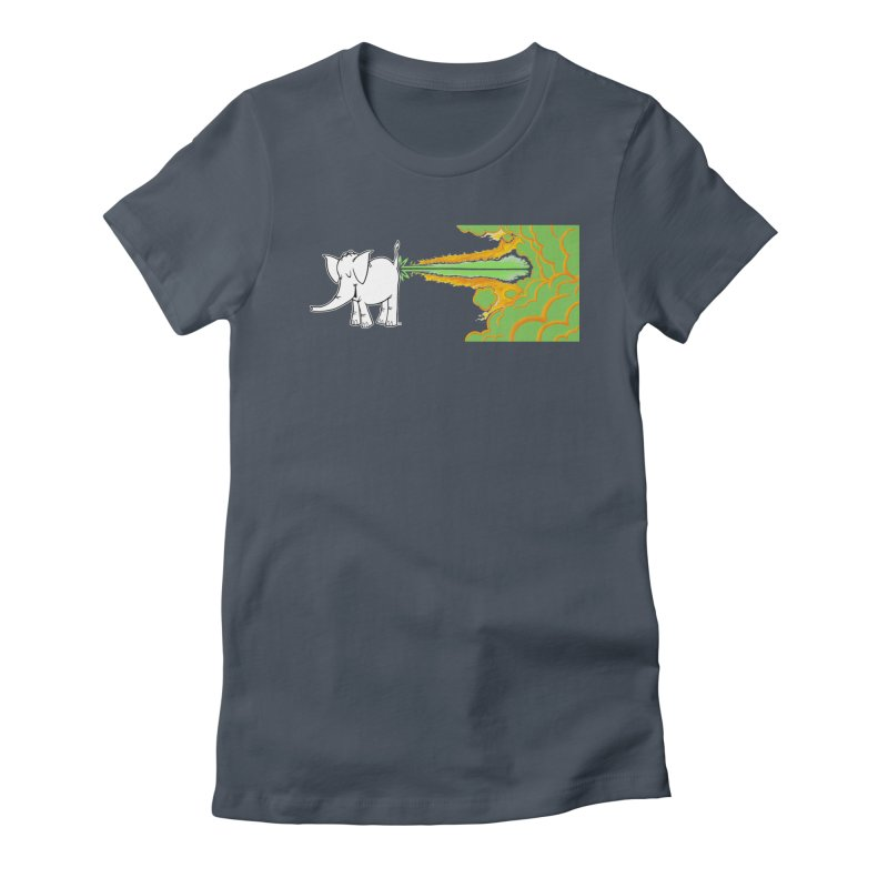 Laser Cy Women's T-Shirt by Cy The Elephart's phArtist Shop