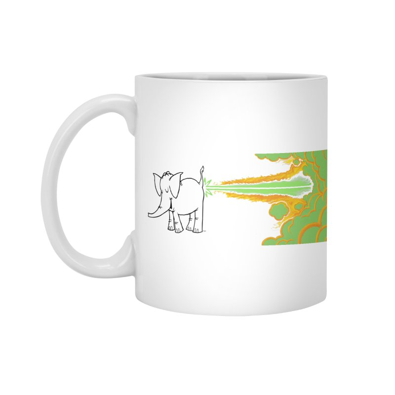 Laser Cy Accessories Standard Mug by Cy The Elephart's phArtist Shop