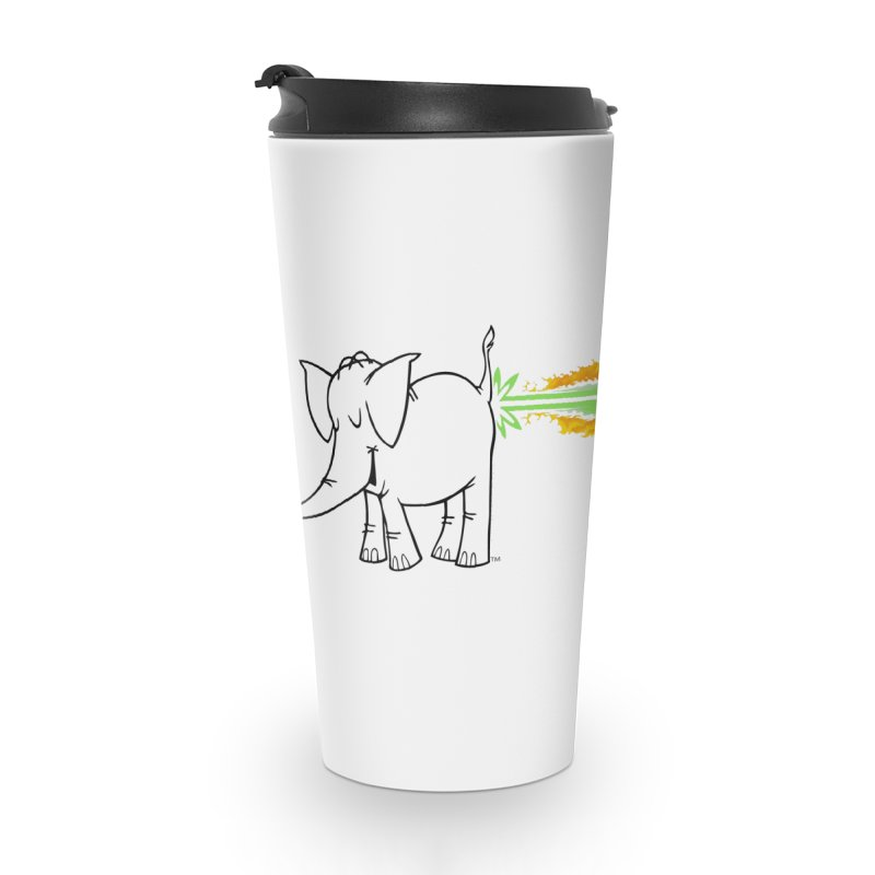 Laser Cy Accessories Travel Mug by Cy The Elephart's phArtist Shop