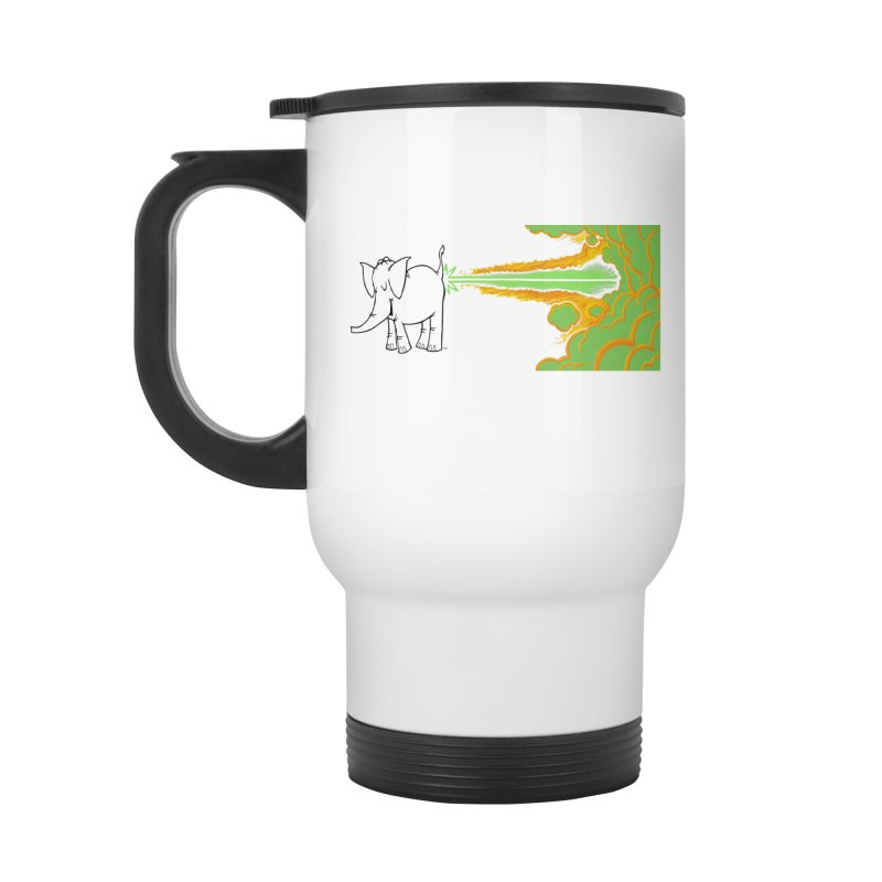 Laser Cy Accessories Mug by Cy The Elephart's phArtist Shop