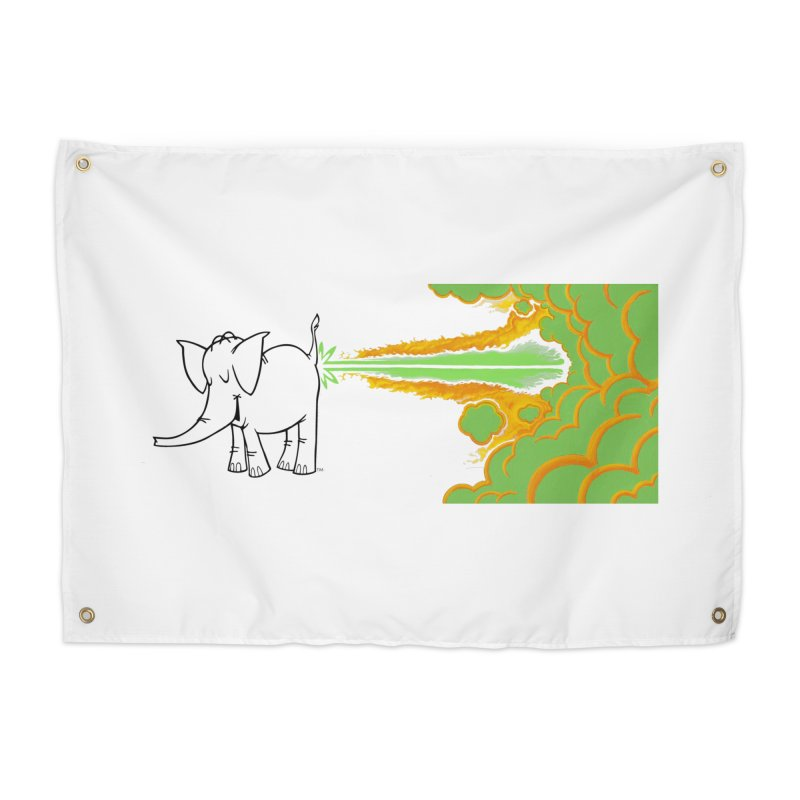 Laser Cy Home Tapestry by Cy The Elephart's phArtist Shop