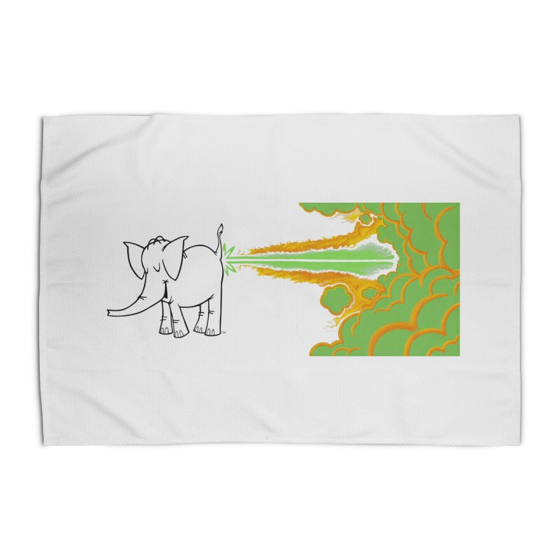 Laser Cy Home Rug by Cy The Elephart's phArtist Shop
