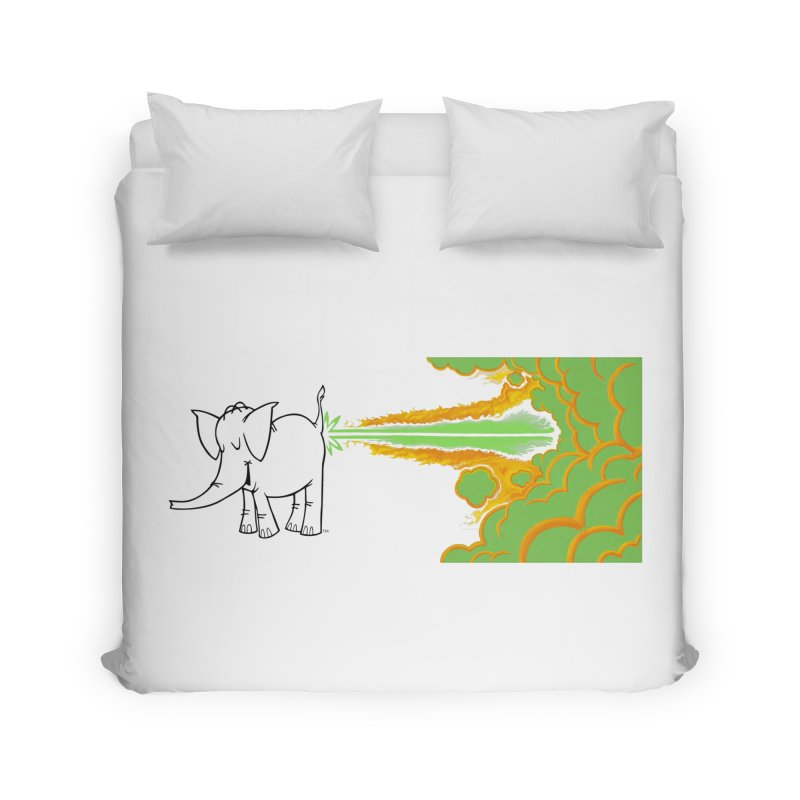 Laser Cy Home Duvet by Cy The Elephart's phArtist Shop