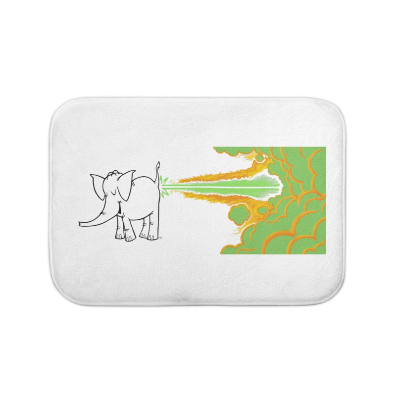 Laser Cy Home Bath Mat by Cy The Elephart's phArtist Shop