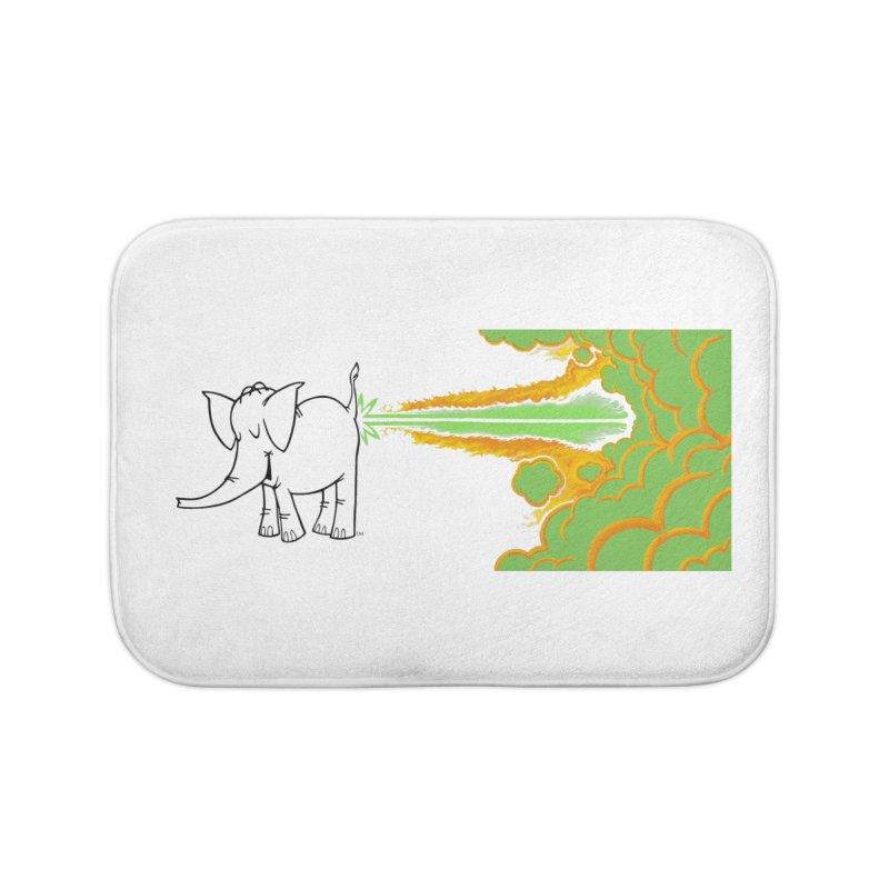 Laser Cy Home Bath Mat by Cy The Elephart's phArtist Shop
