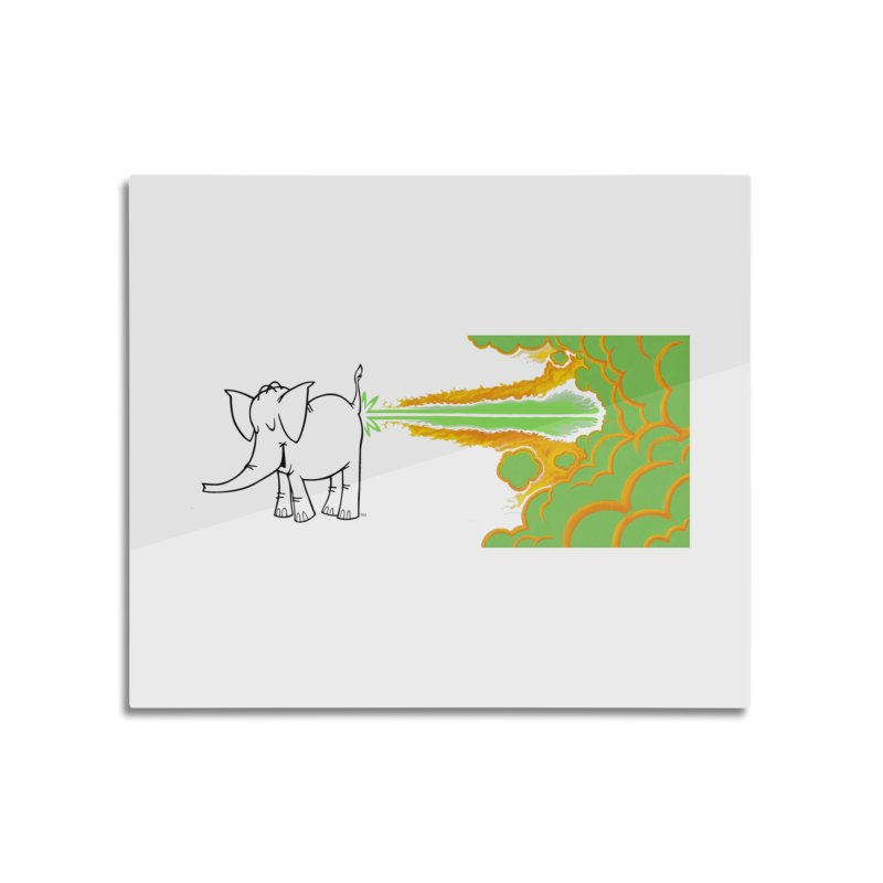 Laser Cy Home Mounted Acrylic Print by Cy The Elephart's phArtist Shop