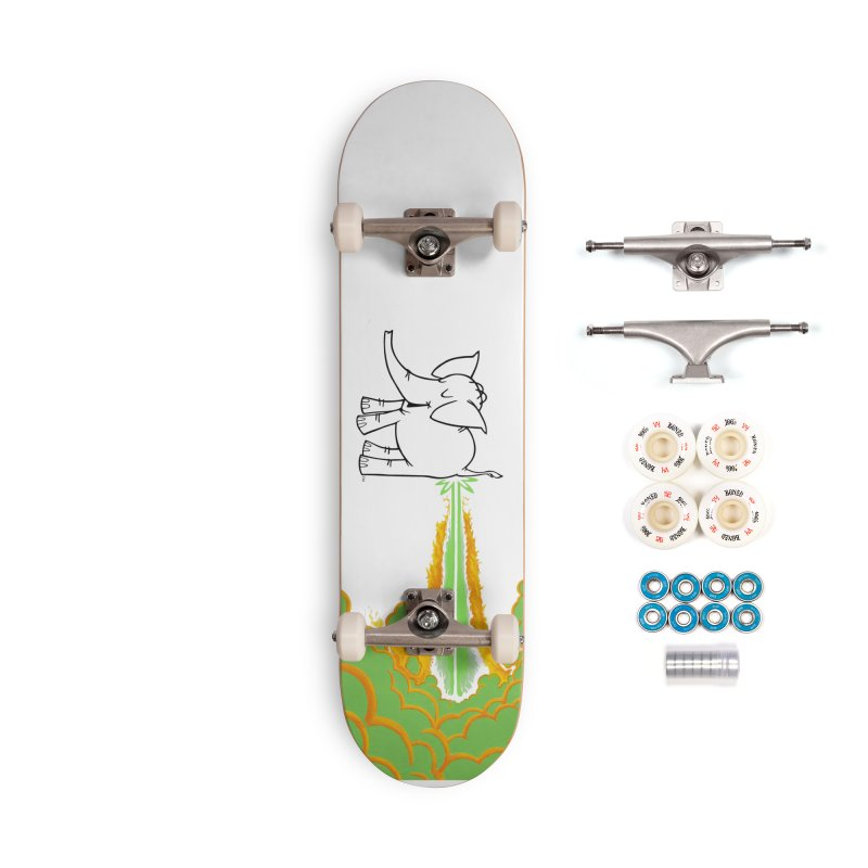 Laser Cy Accessories Complete - Premium Skateboard by Cy The Elephart's phArtist Shop