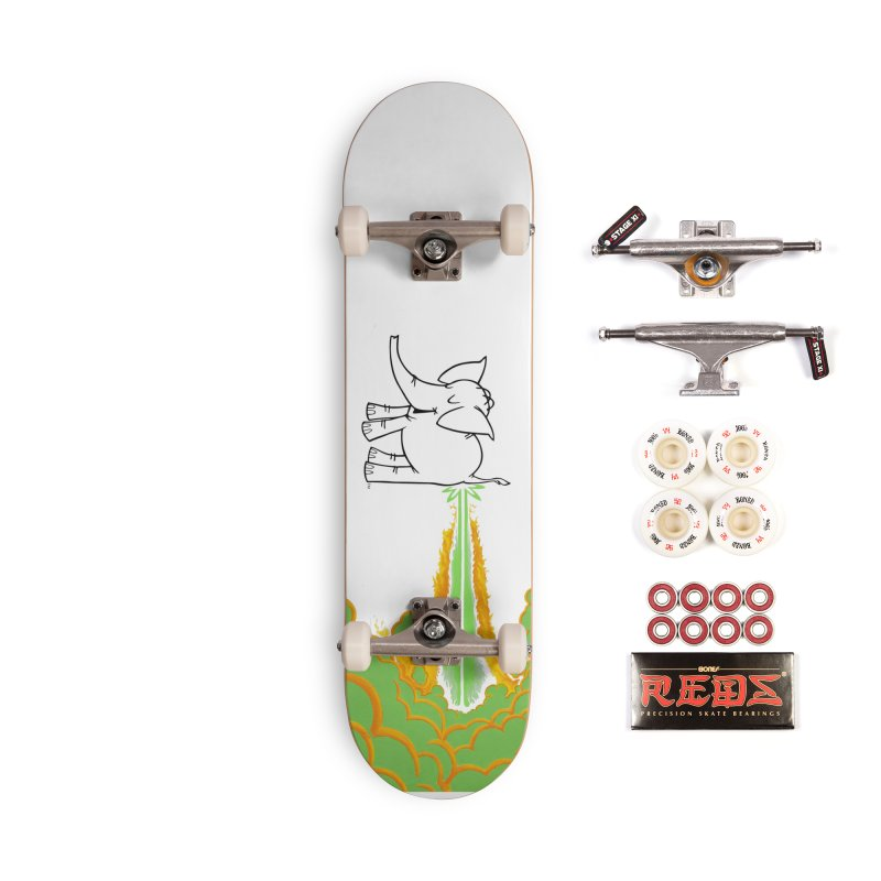 Laser Cy Accessories Complete - Pro Skateboard by Cy The Elephart's phArtist Shop