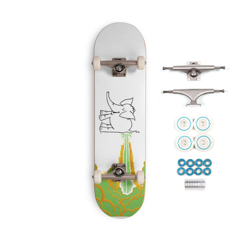 Laser Cy Accessories Complete - Basic Skateboard by Cy The Elephart's phArtist Shop
