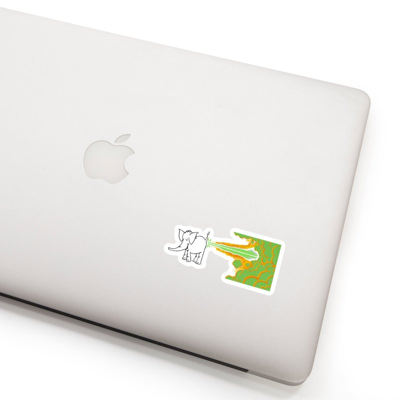 Laser Cy Accessories Sticker by Cy The Elephart's phArtist Shop