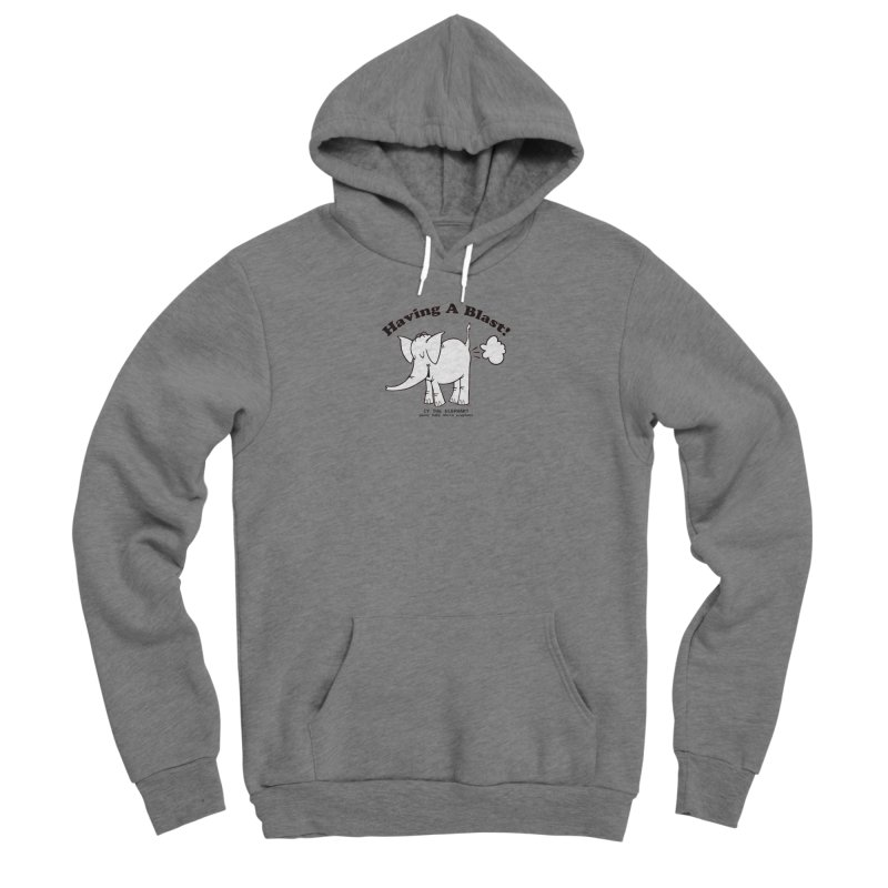 Having A Blast with Cy The Elephart Men's Pullover Hoody by Cy The Elephart's phArtist Shop