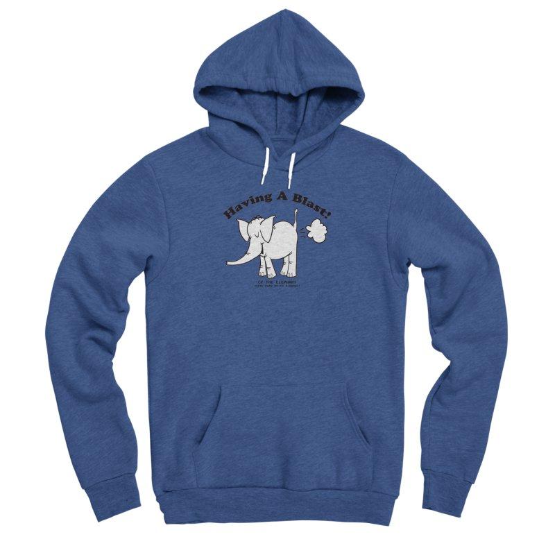 Having A Blast with Cy The Elephart Women's Sponge Fleece Pullover Hoody by Cy The Elephart's phArtist Shop