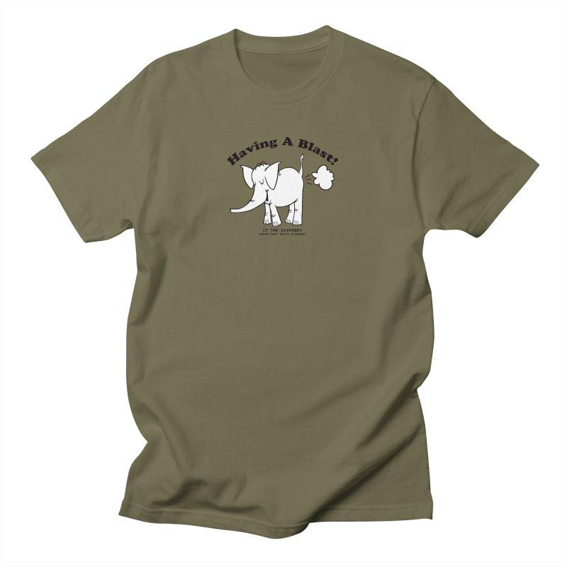 Having A Blast with Cy The Elephart Women's T-Shirt by Cy The Elephart's phArtist Shop