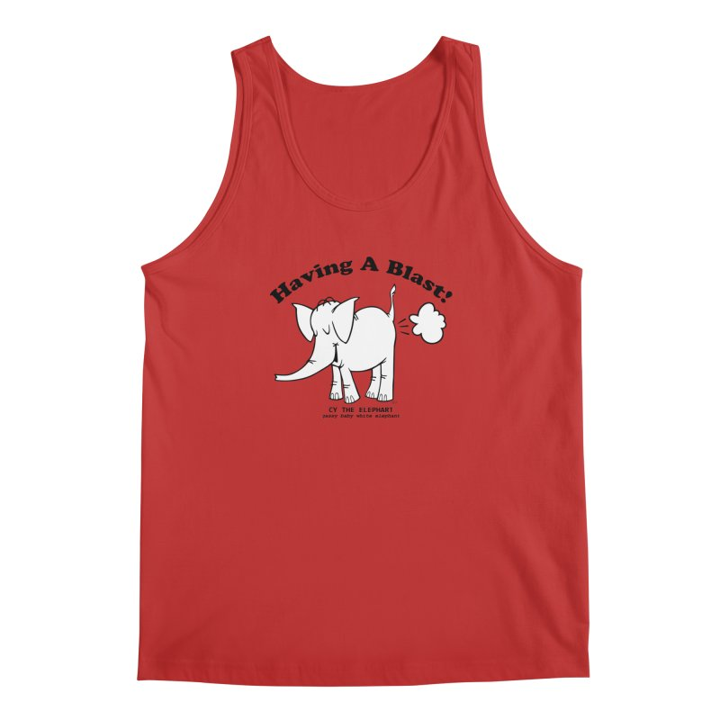 Having A Blast with Cy The Elephart Men's Tank by Cy The Elephart's phArtist Shop