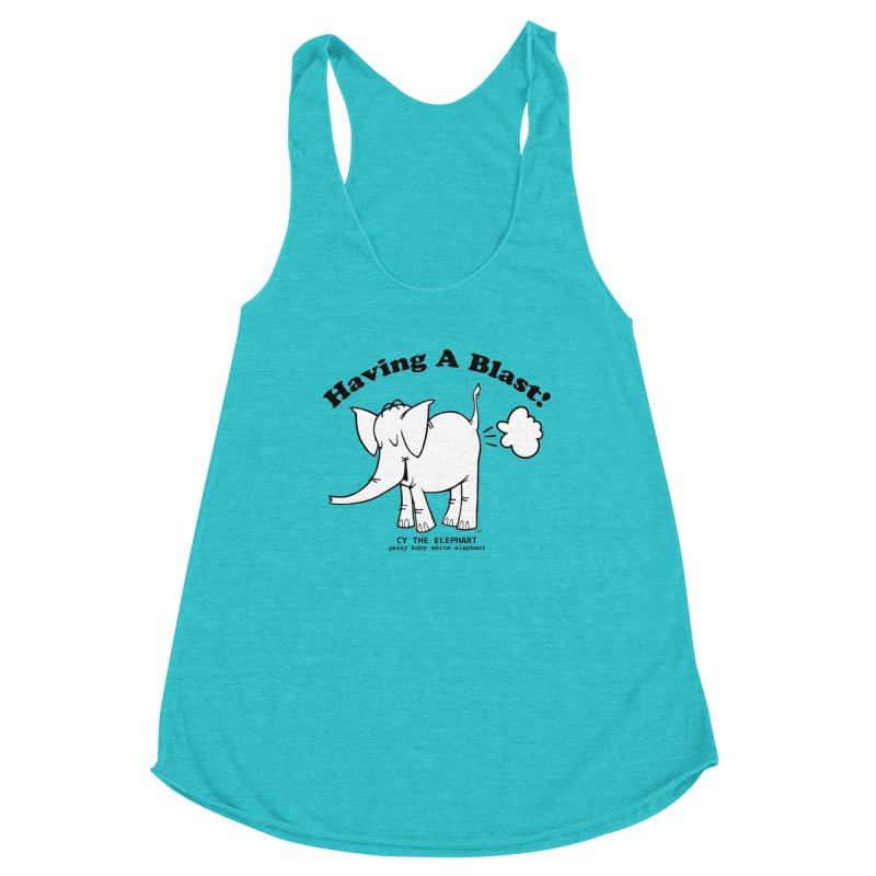 Having A Blast with Cy The Elephart Women's Tank by Cy The Elephart's phArtist Shop