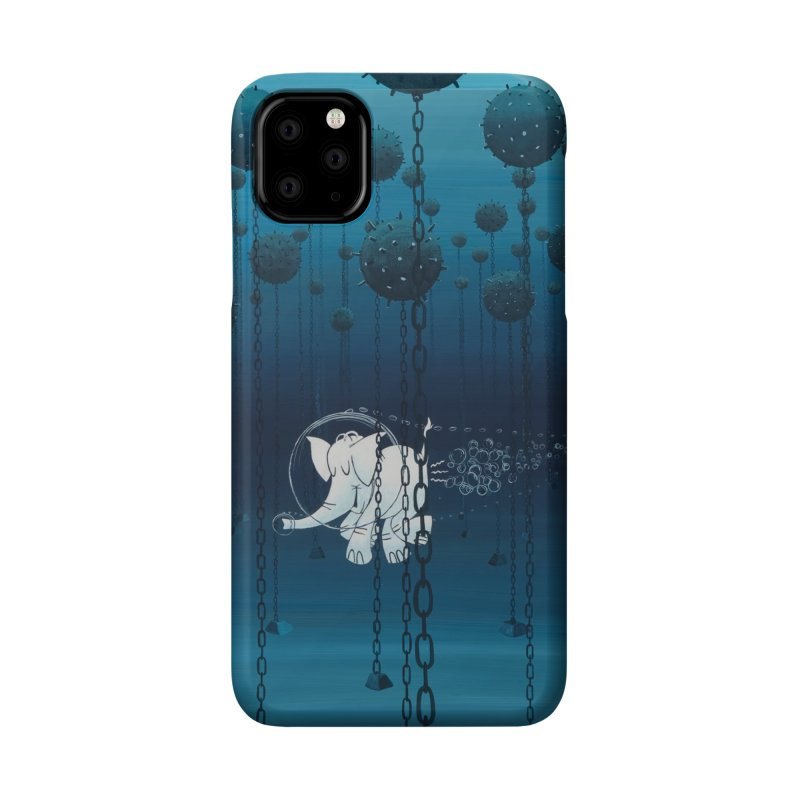 Cy-Lent Butt Deadly Accessories Phone Case by Cy The Elephart's phArtist Shop