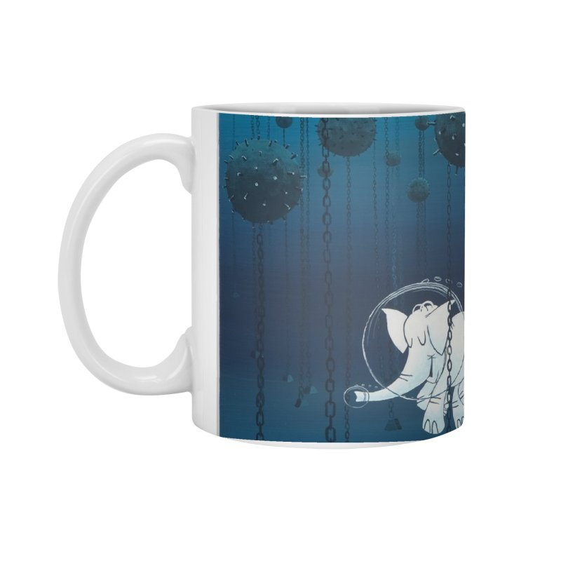 Cy-Lent Butt Deadly Accessories Mug by Cy The Elephart's phArtist Shop