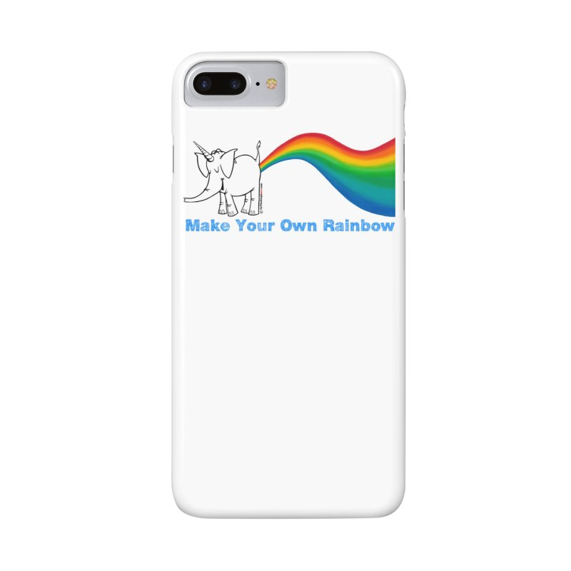 Make Your Own Rainbow - Cy The Elephart Accessories Phone Case by Cy The Elephart's phArtist Shop