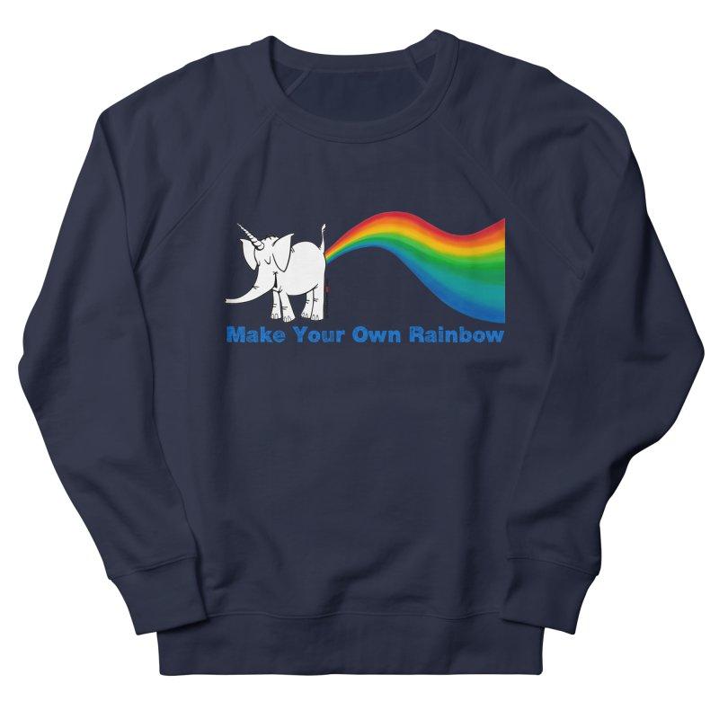 Make Your Own Rainbow - Cy The Elephart Women's Sweatshirt by Cy The Elephart's phArtist Shop