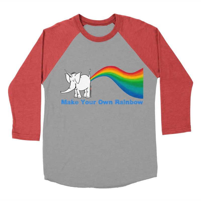 Make Your Own Rainbow - Cy The Elephart Men's Longsleeve T-Shirt by Cy The Elephart's phArtist Shop