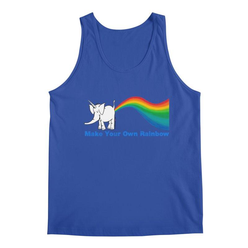 Make Your Own Rainbow - Cy The Elephart Men's Regular Tank by Cy The Elephart's phArtist Shop