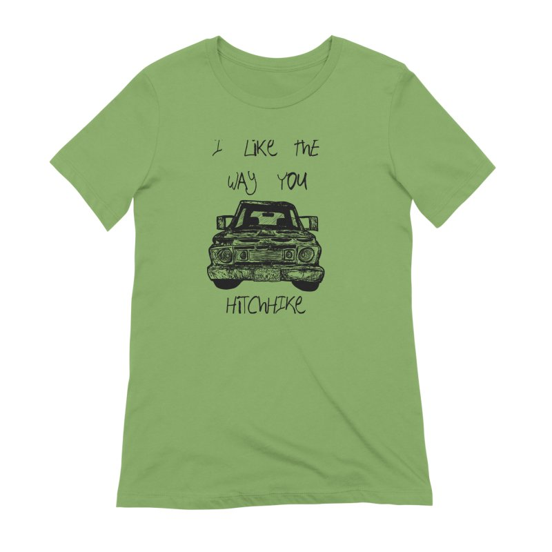 I Like The Way You Hitchhike - JAX IN LOVE Women's Extra Soft T-Shirt by Cyclamen Films Merchandise