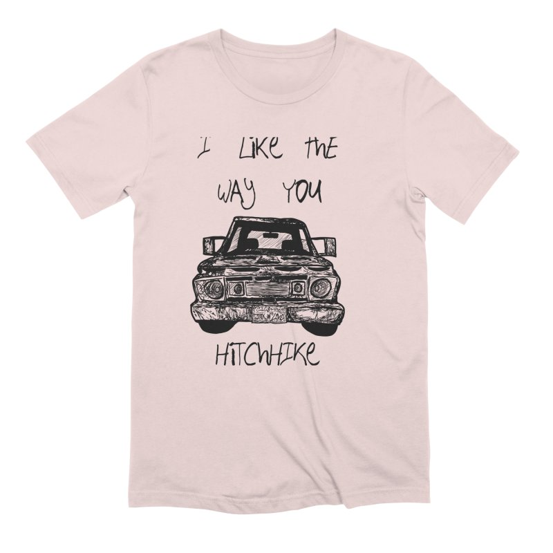 I Like The Way You Hitchhike - JAX IN LOVE Men's Extra Soft T-Shirt by Cyclamen Films Merchandise