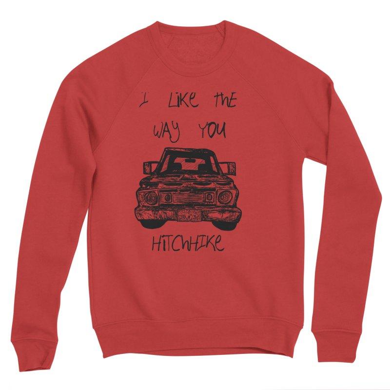 I Like The Way You Hitchhike - JAX IN LOVE Men's Sponge Fleece Sweatshirt by Cyclamen Films Merchandise