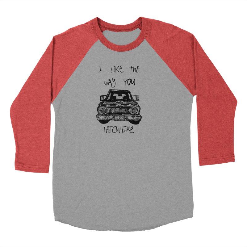 I Like The Way You Hitchhike - JAX IN LOVE Men's Longsleeve T-Shirt by Cyclamen Films Merchandise