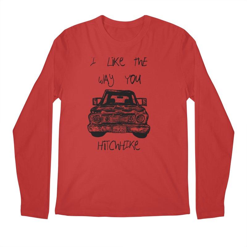I Like The Way You Hitchhike - JAX IN LOVE Men's Regular Longsleeve T-Shirt by Cyclamen Films Merchandise