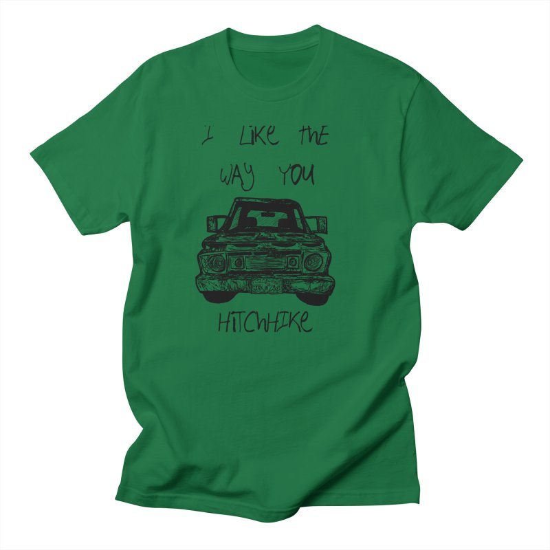 I Like The Way You Hitchhike - JAX IN LOVE Men's T-Shirt by Cyclamen Films Merchandise
