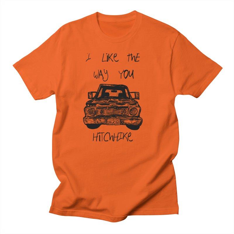 I Like The Way You Hitchhike - JAX IN LOVE Men's Regular T-Shirt by Cyclamen Films Merchandise