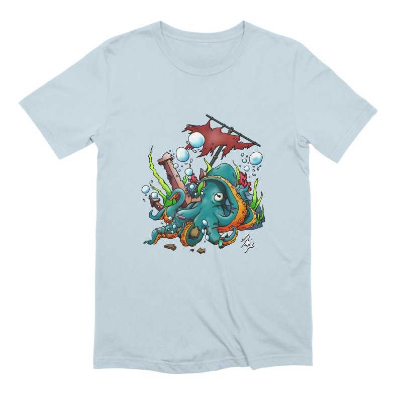 Riptide (Color V.1) Men's Extra Soft T-Shirt by CyndaChill's Apparel Shop