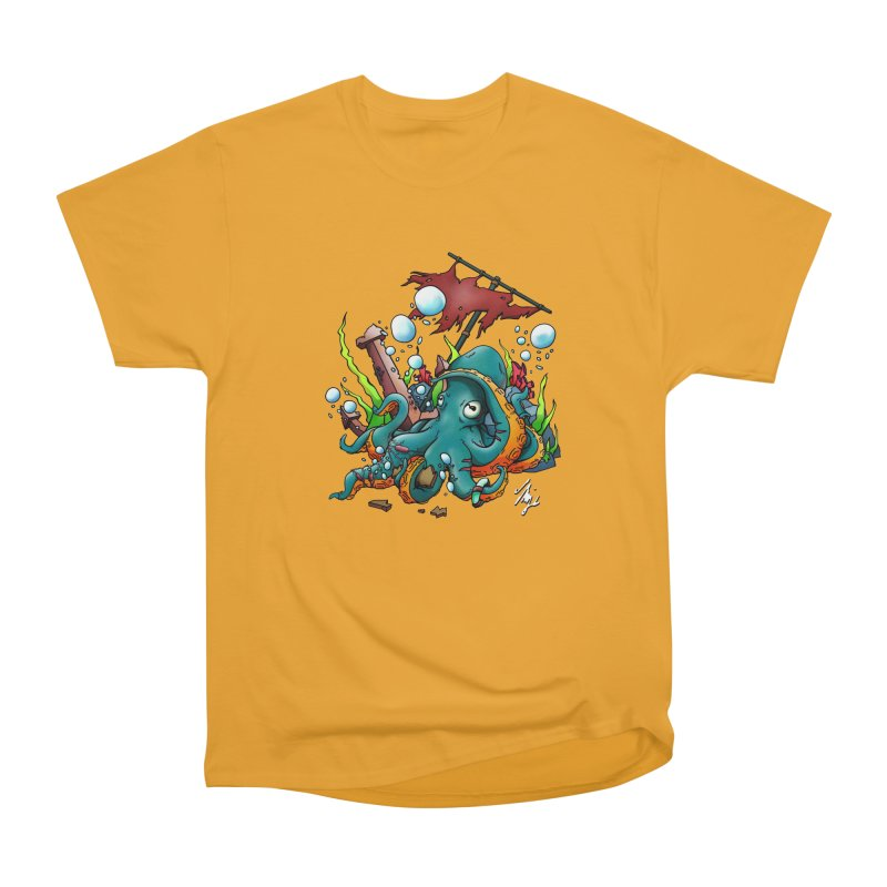 Riptide (Color V.1) Men's Heavyweight T-Shirt by CyndaChill's Apparel Shop