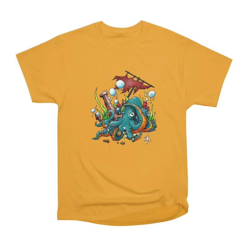 Riptide (Color V.1) Women's Heavyweight Unisex T-Shirt by CyndaChill's Apparel Shop
