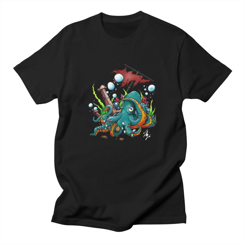 Riptide (Color V.1) Men's Regular T-Shirt by CyndaChill's Apparel Shop